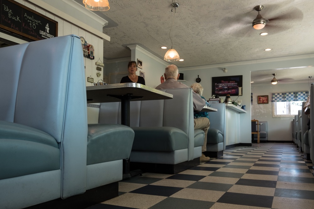 At the diner 1